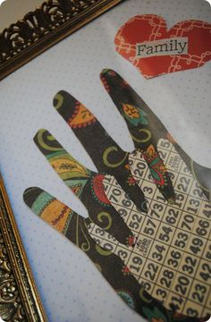 Family Handprint Craft Project