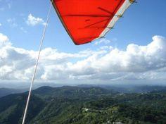 Team Spirit Hang Gliding & Paragliding: Puerto Rico under Bob's trusty Fusion