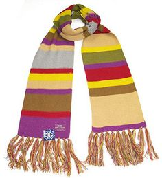 #DoctorWho: Official BBC Fourth Doctor Scarf - Don't forget to wrap-up warm this winter; Who knows how cold it will get? £44.99