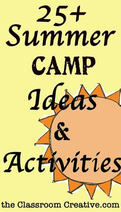 Classroom Camp Theme Ideas | summer-camp-activities-theme-ideas-crafts-for-kids