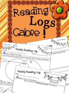 Choose different reading logs to match what your students are reading at any given time! Six different logs including Venn Diagrams and T-charts. Prompts challenge kids to reflect about a variety of narrative elements! Not to mention that they are all so adorable...