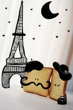 french toast in paris - LOL