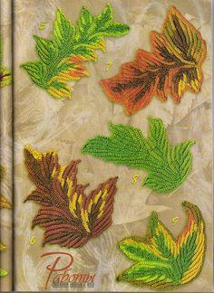 Tutoriales de hojas y flores irish crochet, charts, crochet flower, autumn leaves, crochet freeform, knit, crochet patterns, freeform crochet, crochet leav
