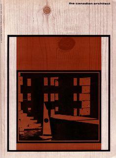 1960's Canadian Architect magazine