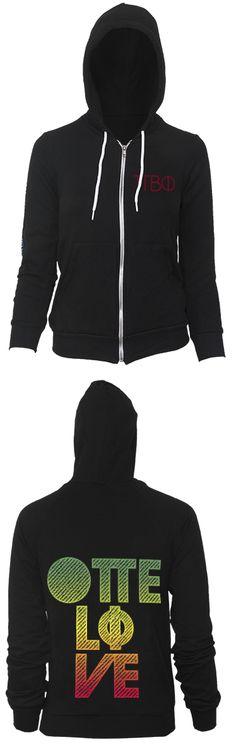 Pi Phi: One Love hoodie #piphi #pibetaphi