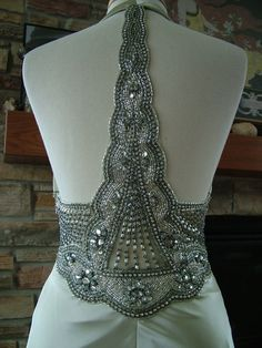 Wedding Dress 1930s Vintage Inspired