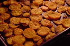 sweet potato chips! easy to make, great snack to have on hand.