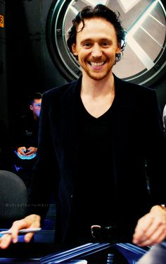 Tom Hiddleston  Adorable