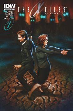 book cover art, season 10, the x files, seasons, comic books, xfile season, book covers, writer, comics