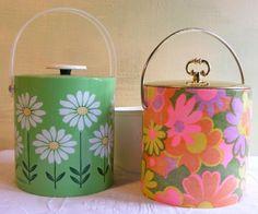 retro ice buckets