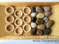 Creating a Discovery Area with Tinkerlab - great ideas from the new @tinkerlab book PLUS a chance to win a copy for those in the US, UK, Canada & Australia. Click through to enter.