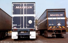 MAISLIN TRAILERS OLD & NEW maislin trailer, brother truck