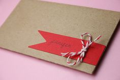 Neat way to package a card