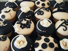 Google Image Result for http://cupcakespictures.com/beige-and-black-cupcakes.jpg