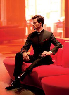 fashion, slick black, nehru suit, indian weddings, cloth, wedding tuxedos, suits, indian groom suit, black nehru