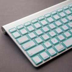 Macbook Pro Keyboard Cover Mint. Love!