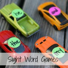 Sight-Word games and lots of other reading activities/games/tips