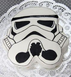 Birthday Cake  Star Wars - Stormtrooper