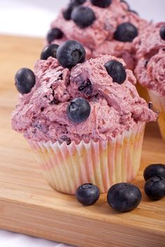 Blueberry Vegan Cupcake Recipe