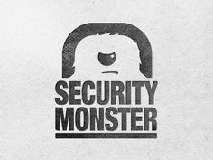 fgs logo, secur logo, logo design, logos design, security logo, monster logo, design inspir, secur monster, design idea