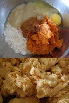 Homemade grain free apple cinnamon & pumpkin dog treats