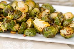 Lemon Roasted Brussel Sprouts