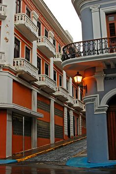 Colorful Old San Juan -- Puerto Rico