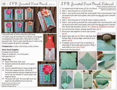 Stampin Up Envelope Punch Board Gusseted Pouch Tutorial with Flower Shop stamps by Di Barnes #stampinup #stampinupau #colourmehappy #cutetreats