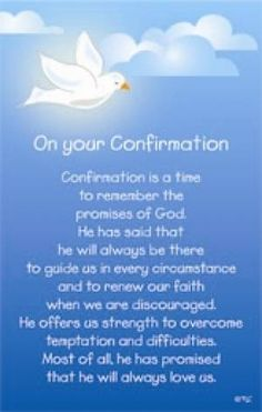 Confirmation Blessings | confirmation prayer