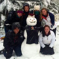 The sailing team enjoys a snow day! #Blizzard2013 #BostonCollege #Nemo