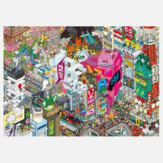 Poster Tokyo / eBoy.