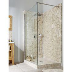 Salle de bains on pinterest merlin hemnes and bathroom for Lux elements receveur douche