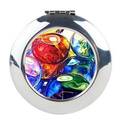 Glass Gems 3 in compact form is all kinds of fabulous. Find it and two other round or square watercolor compacts at my online merch store!  http://www.cafepress.com/kellyeddingtonwatercolors/9500458