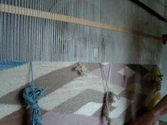 weaving on homemade loom navajo weaving my first rug