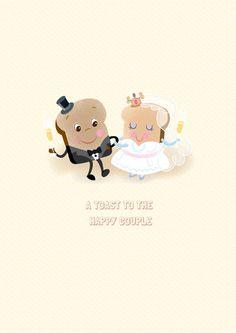 Wedding Toast Card | Open Me