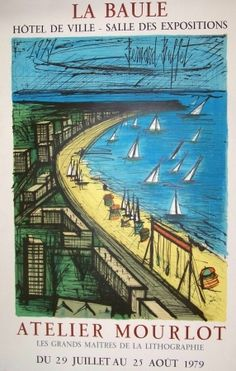 Affiches loisirs voyages culture on pinterest air for Bernard buffet cote