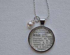 pendants, craft idea, locket, knit, necklaces