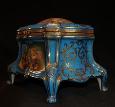 Sevres Porcelain Jewellery Box