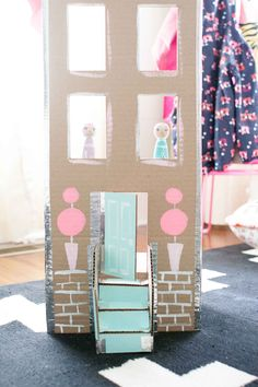dollhouse made with
