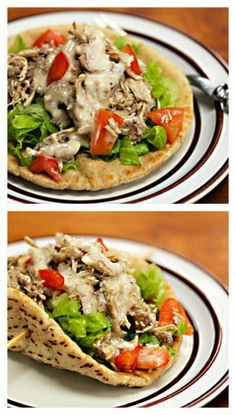 Slow Cooker Middle Eastern Garlic Chicken