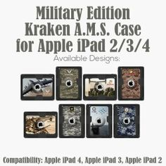 Trident Case wants to give one military-member (or family member) a free iPad or Samsung Galaxy Military Edition case. (Giveaway ends 4/1/2014)