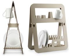 How awesome is this??     Creative Dish Drainers and Modern Dish Racks (15) 2