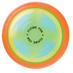 "7"" soft flying disc $9.95 shipped"