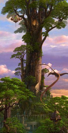 Tree castle.