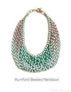 Mumford Beaded Necklace