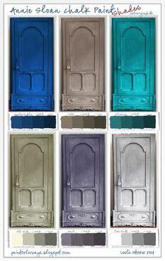 Annie Sloan Chalk Paint Swatch Book Part 2 - Shades - Bloglovin
