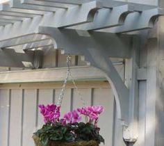 Sebastopol Arbor with pink flowers. arbor over outdoor sink, arbor garage, garag arbor, garage doors, hous, pergola
