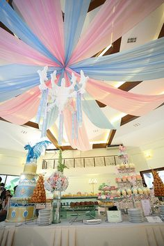 Super cute baby shower or christening party idea :)