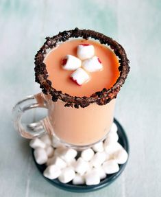 Pumpkin Pie White Hot Chocolate #Drink