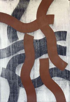 Swurble #30, acrylic on paper, 44x30, 2012 Glovaski